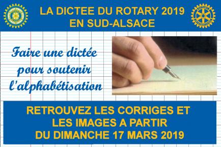 La dictée du Rotary en Sud-Alsace